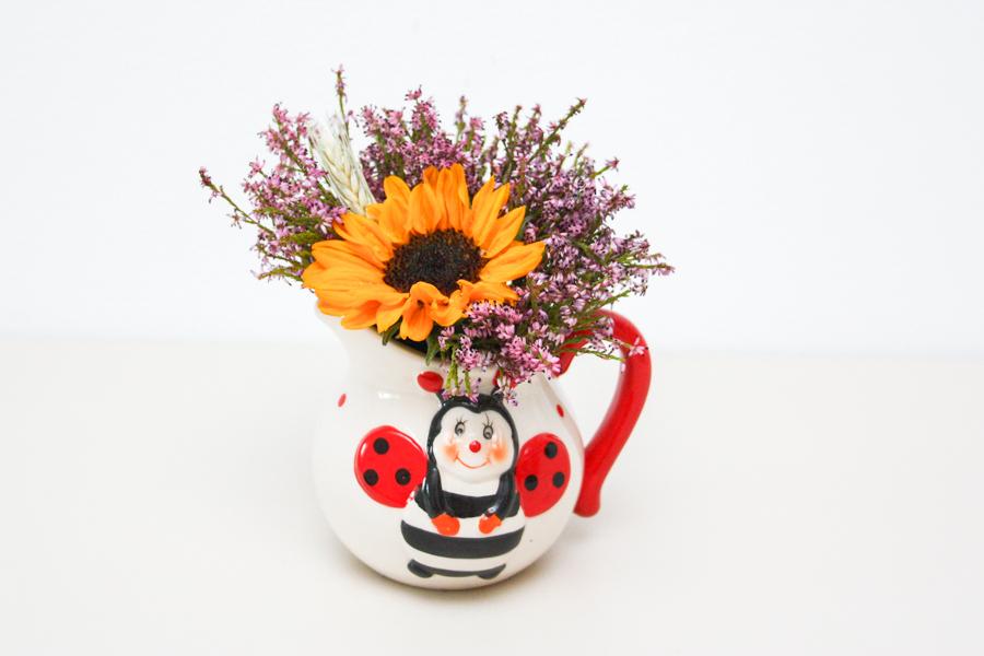 Mini Aranjament Floral Cadou De Vara 1 Surprize Florale